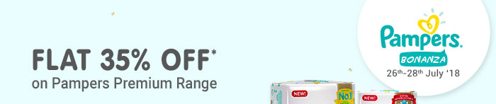 Pampers Bonanza_Flat 35% OFF*