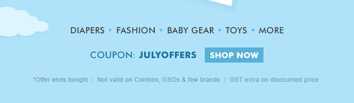 Coupon: JULYOFFERS  |  Shop Now