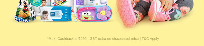 *Max. Cashback is Rs.250 | GST extra on discounted price | T&C Apply