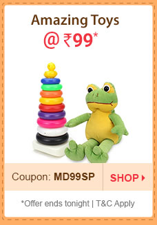 Amazing Toys @ Rs. 99* | Coupon: MD99SP