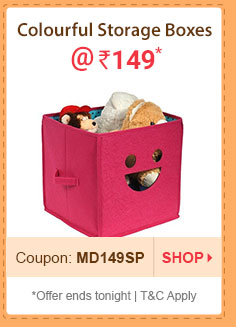 Colourful Storage Boxes @ Rs. 149* | Coupon: MD149SP
