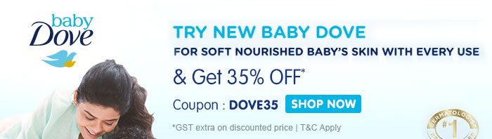 Baby Dove_Flat 35% OFF*