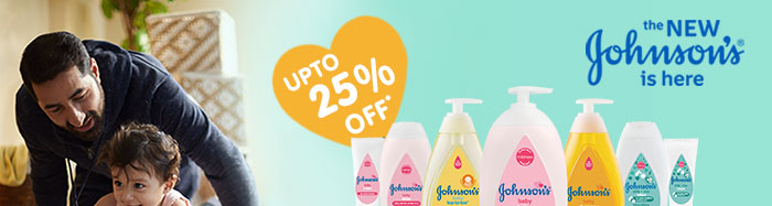 Johnson's baby | UPTO 25% OFF*