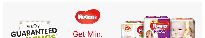 Huggies_Get Min. 26% OFF