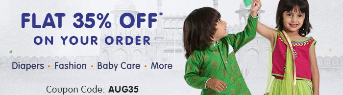 Flat 35% OFF* on Your Order