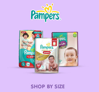 Pampers - Shop by Size