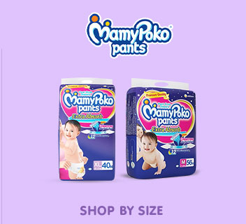 MamyPoko Pants - Shop by Size