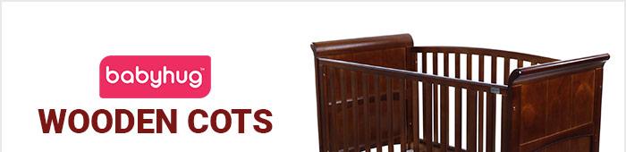 Babyhug Wooden Cots