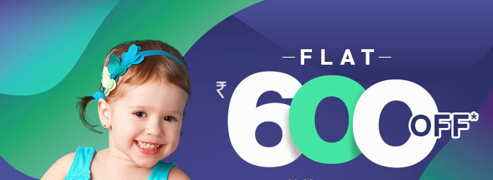 Flat Rs. 600 OFF* on Your order worth Rs. 1499 & above