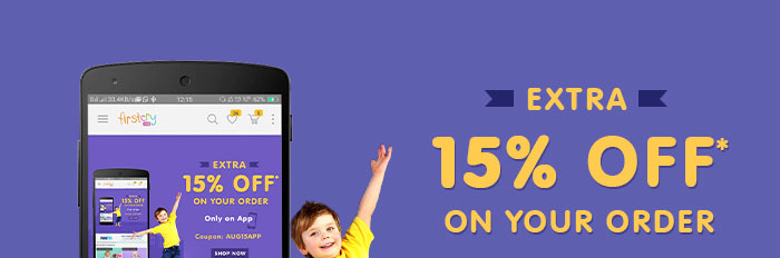 Extra 15% OFF* on Your Order - Only on App
