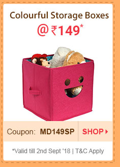 Foldable Storage Boxes @ Rs. 149* | Coupon: MD149SP