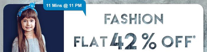 Flat 42% OFF*