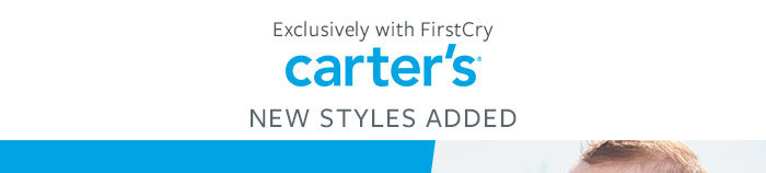 Carter's _New Styles Added