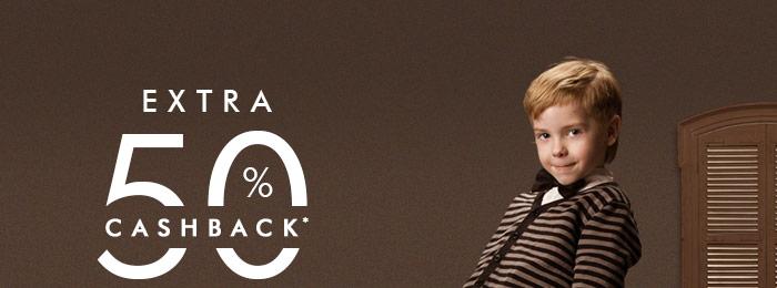 Extra 50% Cashback* on Entire Fashion Range  |  Coupon: FSH50CB