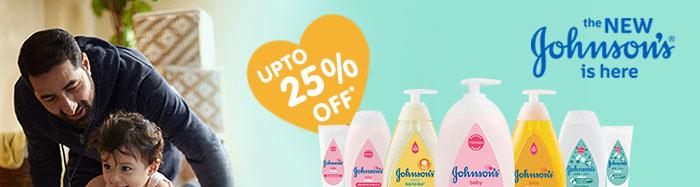 Johnson's baby | UPTO 25% OFF*