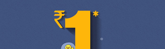 Rs. 1* Store |  Coupon : SEP1STR