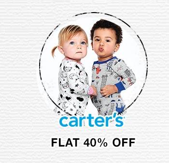 Carter's- Flat 40% OFF