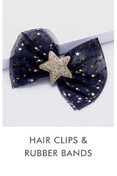 Hair Clips and Rubber bands