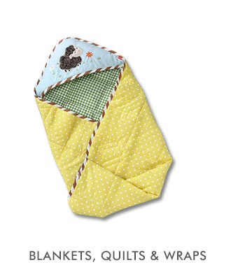 Blankets, Quilts & Wraps