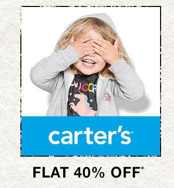 Carter's- Flat 40% OFF*