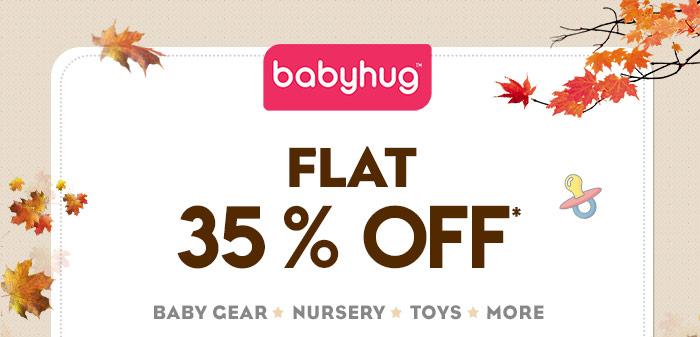 Flat 35% OFF* on Babyhug Range