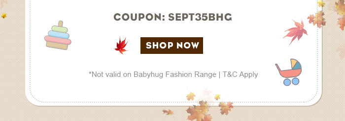 *GST extra on discounted price | Not valid on Babyhug Fashion Range