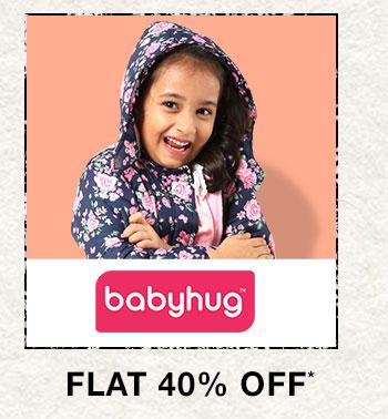 Babyhug- Flat 40% OFF*
