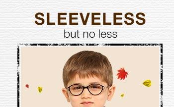 Sleeveless but no less
