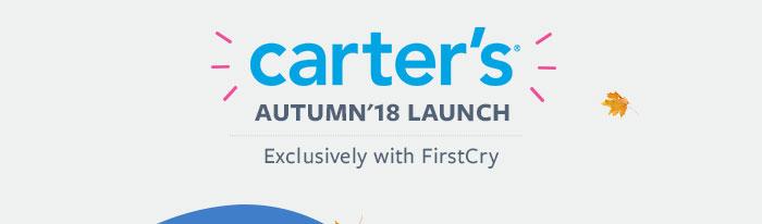 carter's | Autumn '18 Launch