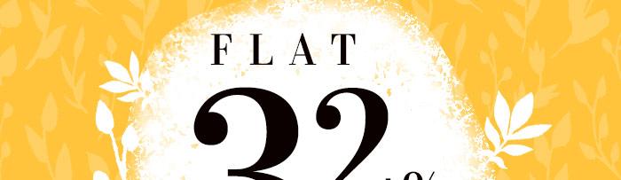 Flat 32% OFF*