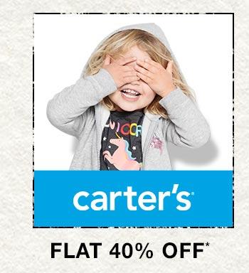Carter's - Flat 40% OFF
