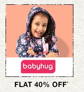 Babyhug - Flat 40% OFF
