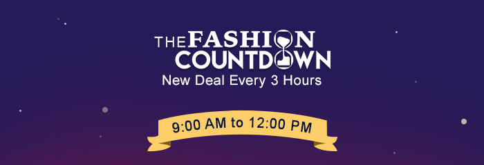 The Fashion Countdown - New Deal Every 3 Hours