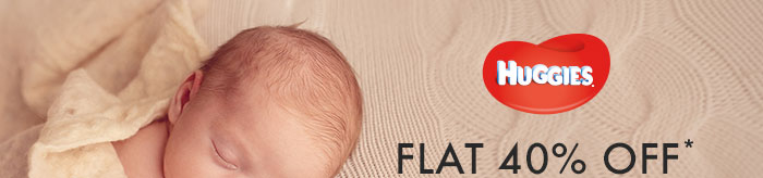 Huggies_Flat 40% OFF*