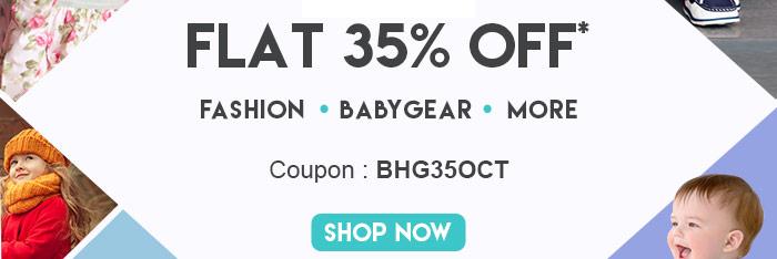 Flat 35% OFF*