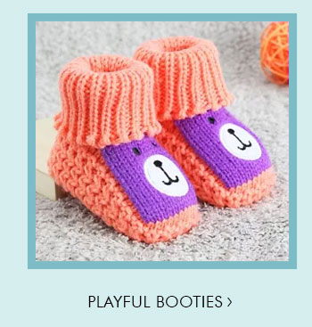 Playful Booties