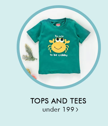 Tops and Tees Under 199