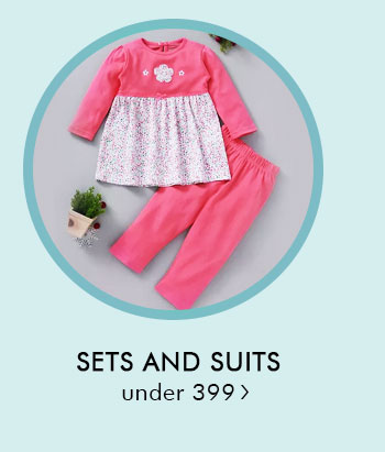 Sets and Suits Under 399