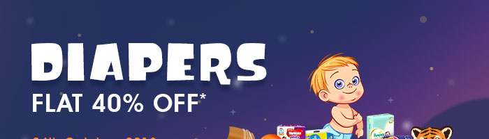 Diapers_Flat 40% OFF*