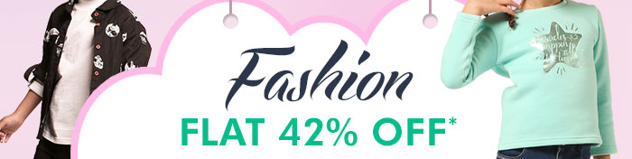 Flat 42% OFF* on Entire Fashion Range | COUPON: OCT42FSHN