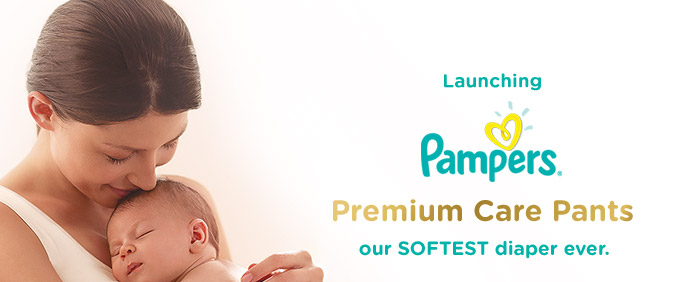 Launching Pampers Premium Care Pants