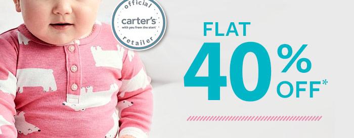 Flat 40% OFF*