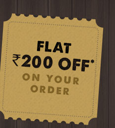 Flat Rs 200 Off On your Order