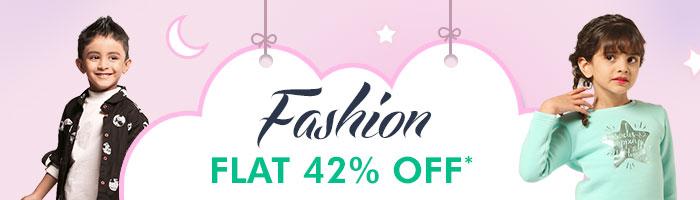 Flat 42% OFF* on Entire Fashion Range | COUPON:OCT42FSHN