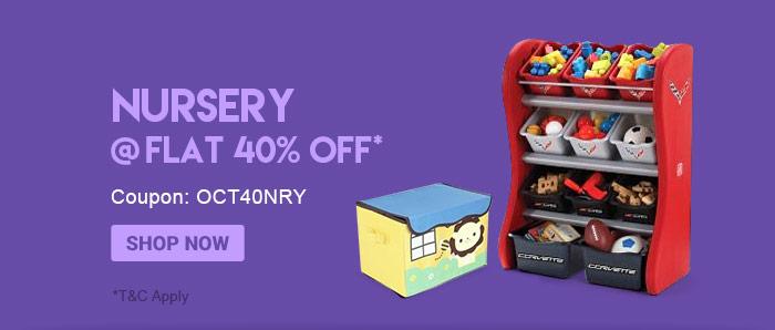 Nursery @ Flat 40% OFF*