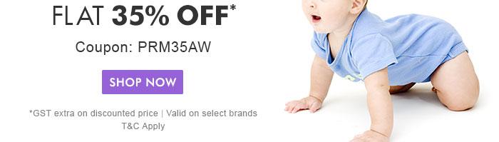 Flat 35% OFF* | Coupon: PRM35AW
