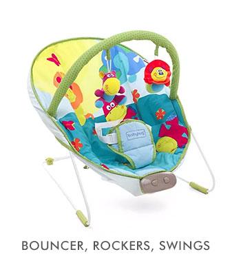 Bouncer, Rockers, Swings