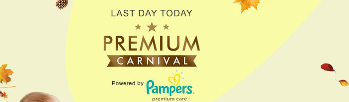 Premium Carnival | Powered by Pampers Premium Care Pants