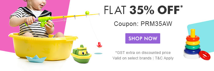 Flat 35% OFF* | Coupon: PRM35AW