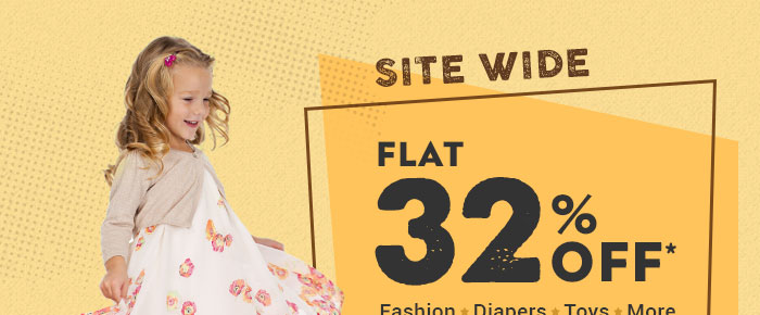 Sitewide_Flat 32% OFF